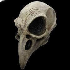 skull mask -