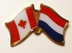 Canada Netherlands Friendship Flags