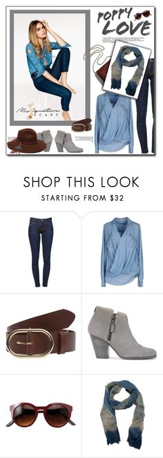 """You are on my mind-  My Signature Scarf"" by mysignaturescarf ❤ liked on Polyvore featuring KLING, Frame Denim, Pepe Jeans London, rag & bone, Little Liffner, ále by Alessandra, StreetStyle, scarf, accessories and PolyPower"