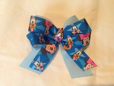 Disney Hair Bow... Monkee Bowz