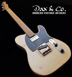 Fender American Telecaster 1995 Desert Tan Dax&Co. W/ Case and signed COA! Fender American Telecaster, Telecaster Guitar, Seymour Duncan, Vintage Guitars, Get Over It, Bass, Bridge, Deserts, Creativity
