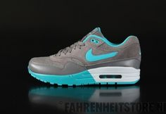 Nike  - Nike WMNS Airmax One  Sneaker Light Ash Dsty Cactus Platinum 319986 - Fahrenheitstore