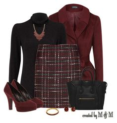 """""""~THURSDAY @ THE OFFICE~"""" by marion-fashionista-diva-miller ❤ liked on Polyvore featuring SELECTED, Dolce&Gabbana, 14th & Union, Pim + Larkin, Style Tryst, WorkWear, thursday and officewear"""