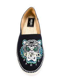Купить Kenzo эспадрильи 'Tiger' в Capsule By Eso from the world's best independent boutiques at farfetch.com. 400 бутиков, 1 адрес. .