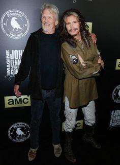 Steven Tyler and Kris Kristofferson