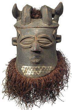 Kuba Nyet, Horned Helmet Mask 7, DRC