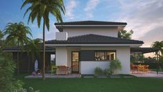 Villas, Florida, Green Valley, New House Plans, House 2, Modern House Design, Beach House, New Homes, Construction