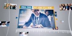 Corporate Timeline II Timeline And Template - Timeline after effects template