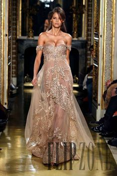 Sexy Evening Dresses Zuhair Murad Off Shoulder Chiffion Lace Applique Champagne Celebrity Dresses Evening Gowns Sexy Evening Dress, Evening Dresses, Prom Dresses, Formal Dresses, Dresses 2013, Pageant Gowns, Lace Dresses, Dress Prom, Wedding Dresses