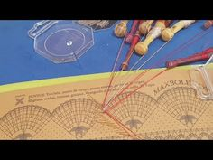 Onda BOMBONERA Con Guipures Y Fantasia TUTO En Directo - YouTube Bobbin Lace Patterns, Lace Heart, Lace Jewelry, Lace Detail, Youtube, New York, Space, Molde, Fantasy