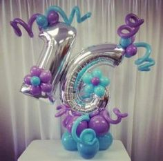 PC – Balloons with Helium Number Balloons, Letter Balloons, Foil Balloons, Balloon Centerpieces, Balloon Decorations Party, Ballon Arrangement, Flower Arrangements, Balloon Columns, Balloon Arch