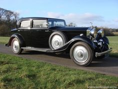 Park Ward Rolls Royce 20/25 HP Sports Saloon