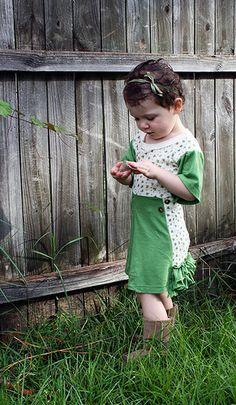 Ruffle t-shirt dress tutorial