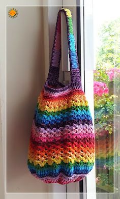 The Rainbow Bag! : free pattern