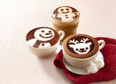 McDonald's Hong Kong's Holiday Drinks Look Better Than Starbucks' | Brand Eating