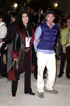 Really cute couple: Cher and her son Elijah Blue Allman Divas, I Got You Babe, Cher Bono, Allman Brothers, Yesterday And Today, Mon Cheri, Her Music, Celebs, Celebrity