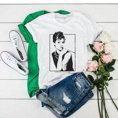 Audrey Hepburn tshirt