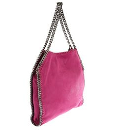 Stella McCartney pink Falabella tote bag