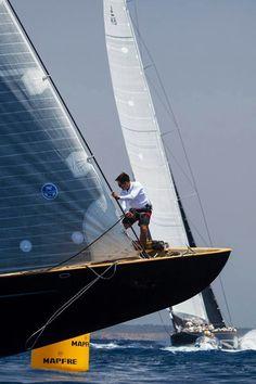 #J class #sailing #bow