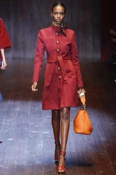 you get the idea - the the sewing machines!!!!!!!! :) Gucci rtw Spring 2015 Runway