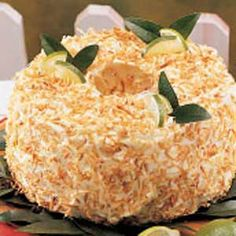 Lime Angel Food Cake
