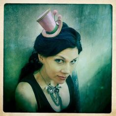 35d91149921 Tea Party Mini Top Hat headband -  Inspiration  maybe I could make the top  · Mad Hatter HatsMad ...