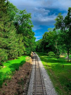 Railroad Tracks, Sidewalk, Nature, Naturaleza, Side Walkway, Walkway, Nature Illustration, Off Grid, Walkways
