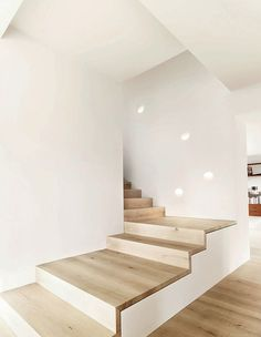 wood staircase design