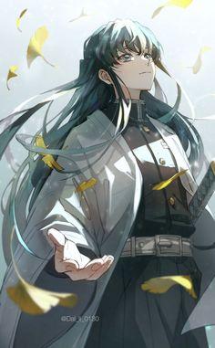 Tokitou Muichirou - Kimetsu no Yaiba - Image - Zerochan Anime Image Board Manga Anime, Art Anime, Otaku Anime, Anime Guys, Anime Angel, Anime Demon, Demon Slayer, Slayer Anime, Character Art