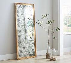 Pivoting Floor Mirror | Floor mirror, Barn and Garden bedroom