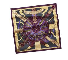 "Hermes Scarf "" Ceintures et liens "" by Laurence Bourthoumieux"