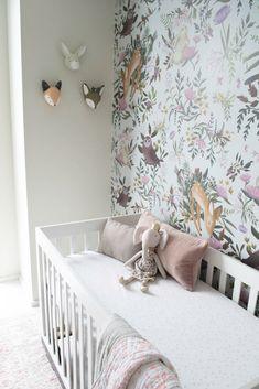 Bright & Whimsical Woodland Girl Nursery - Project Nursery