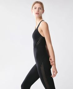 Long jumpsuit - New In - Spring Summer 2017 trends in women fashion at Oysho online. Find lingerie, pyjamas, slippers, nighties, gowns, fluffy, maternity, sportswear, shoes, accessories, body shapers, beachwear and swimsuits & bikinis.