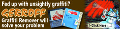 Fed up with graffiti? Choose from our range of Gerroff Graffiti Products to get rid of it! https://www.directa.co.uk/index.php?route=product/category&path=295_1241