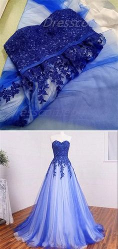 new fashions ball gowns prom Dresses,Blue prom Dresses tulle lace prom gowns P0060#promdresses#promdress#longpromdress#lacepromdresses#bluepromdresses
