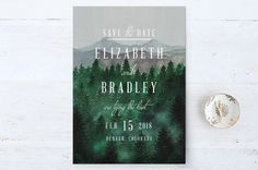 Adventure Awaits Save the Date Petite Cards by Ell... | Minted
