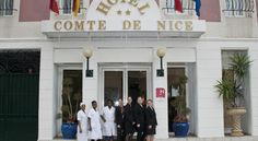 Hotel Comté de Nice Nice Located in central Nice, this hotel is set in a quiet street with a daily market nearby. Guests can access the beach and the Promenade des Anglais in a 7-minute tram ride with the Libération Tram Stop just a few steps away.
