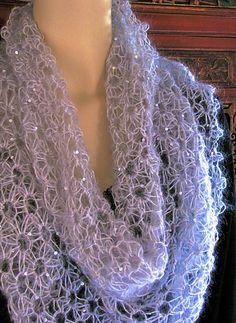 Ravelry: Starwirbel: Spiraling Star Stitch Lace crochet pattern by Vashti Braha
