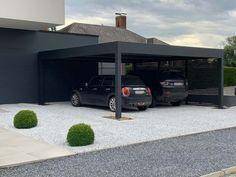 Carport Aluminium | TORI Portails Carport Garage, Pergola Carport, Wood Pergola, Pergola Plans, Diy Pergola, Carport Designs, Pergola Designs, Construction Garage, Carport Aluminium