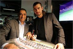 23 janv. 2014 : les vœux de l'OGC Nice à ses partenaires à l'Allianz Riviera