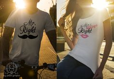 'always' Right T-shirts Buy here… Mrs Always Right, Mr Right, Print Design, T Shirts For Women, Couples, Funny, Stuff To Buy, Woman, Store