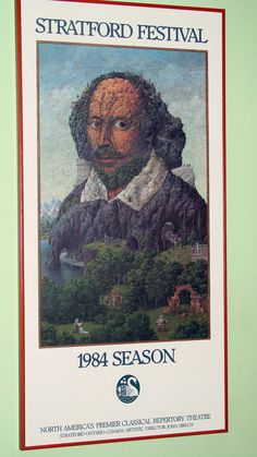 Stratford Ontario Festival Poster by AntiqueAlchemists on Etsy, $75.00