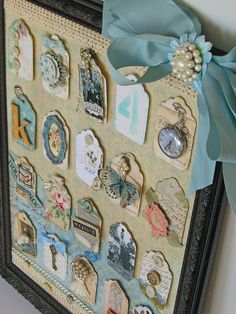 Create a timeless display of treasured family photos and memorabilia.