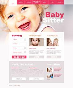 Baby Sitter WordPress Theme