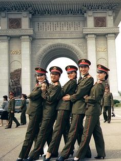 North Koreans having some fun