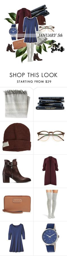 """""""January 5th"""" by witty-banter ❤ liked on Polyvore featuring L.L.Bean, Krochet Kids, Wildfox, Stuart Weitzman, River Island, Marc by Marc Jacobs, Peony & Moss, Patagonia, Simplify and Winter"""