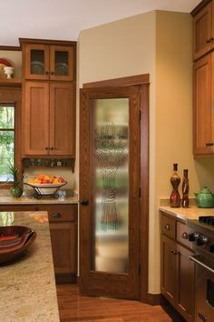 JELD-WEN interior doors are perfect ways to welcome guests into your home. Choose from stylish authentic wood and fiberglass design options. Jeld Wen Doors, Jeld Wen Interior Doors, Kitchen Doors, Kitchen Cabinets, Stained Wood Trim, Quality Kitchens, Bathroom Medicine Cabinet, Liquor Cabinet, Kitchen Design