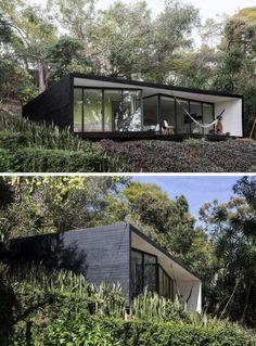 estupendos diseños de fachadas negras