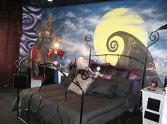 nightmare before christmas diy decorations google search dream rooms dream bedroom goth bedroom