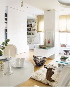 Great small space makeover here.
